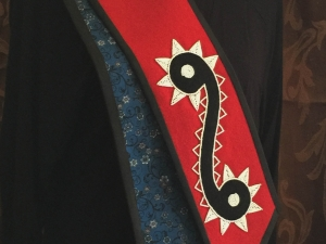 LaRue Honor Stole with Backing Shown